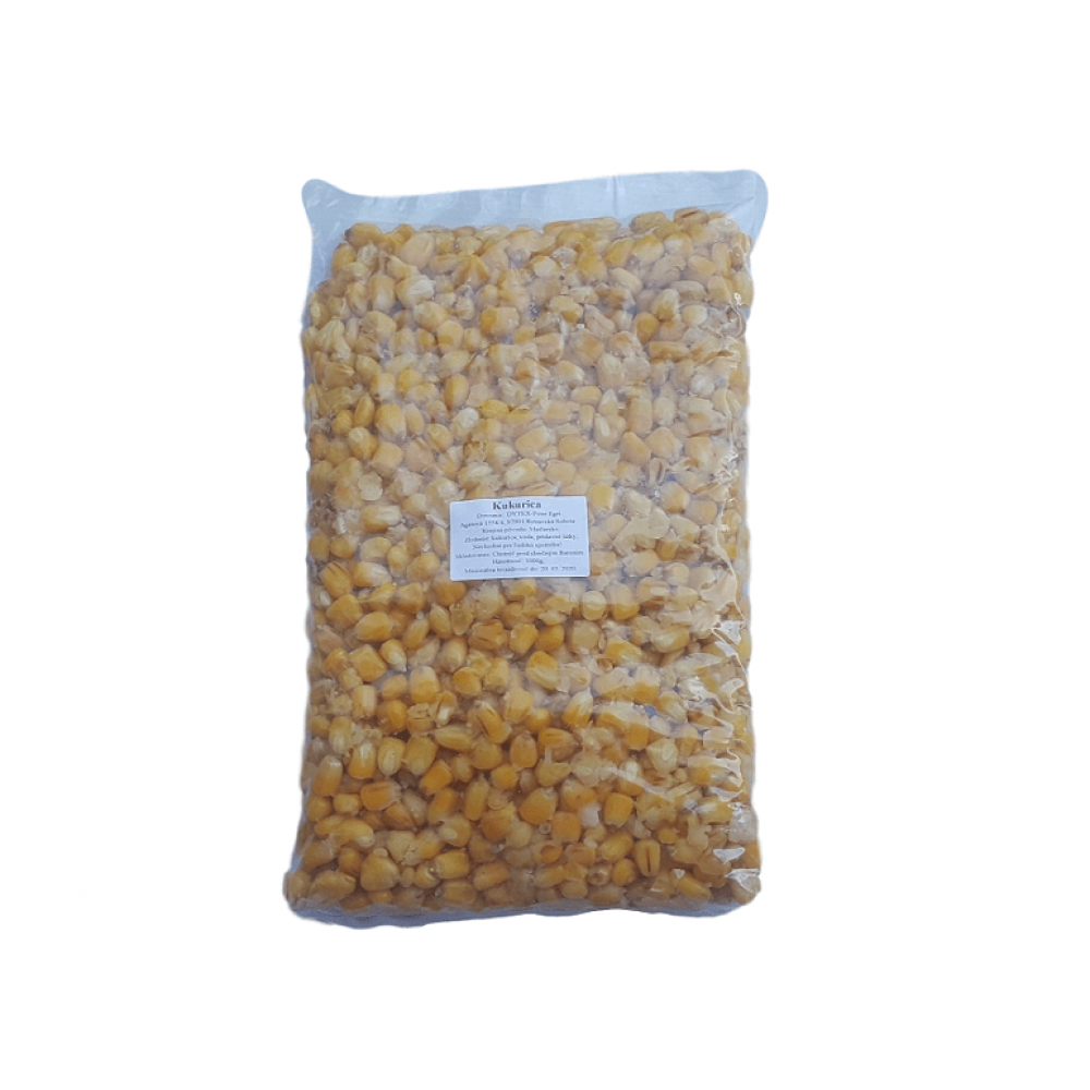 kukurica varená 1kg