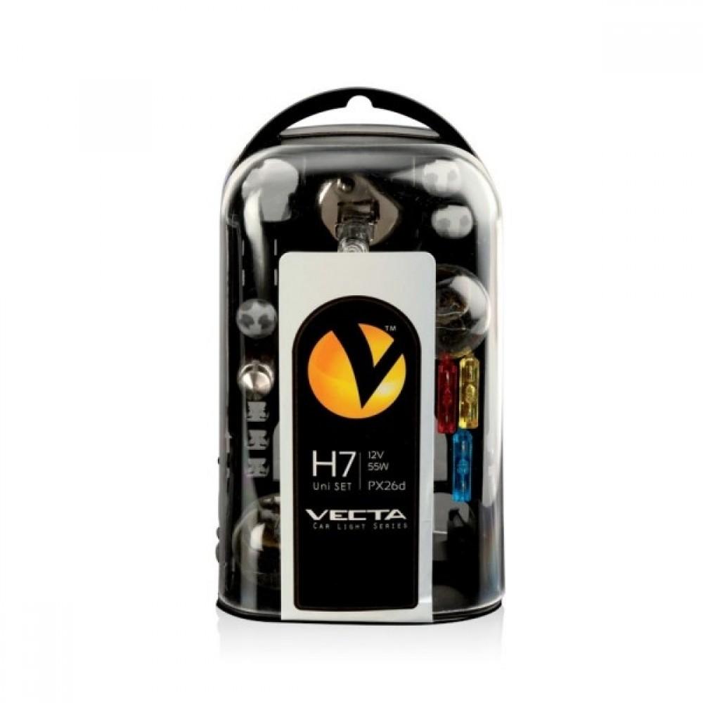 Sada žiaroviek H7 VECTA 4ks
