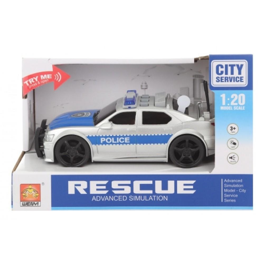 Auto Rescue Police 25cm /5600/ bat.