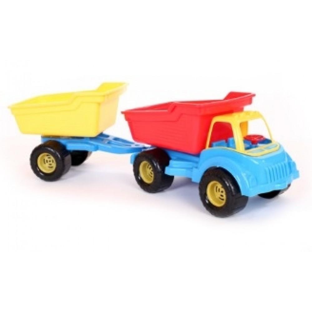 Auto nákladné malé + vlečka 121