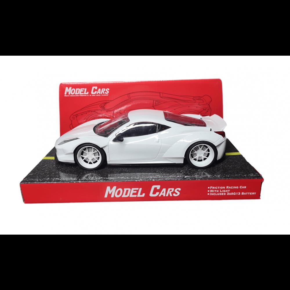 Auto Bugatti 25cm /6520/ svietiace na zortvačník (bat.)