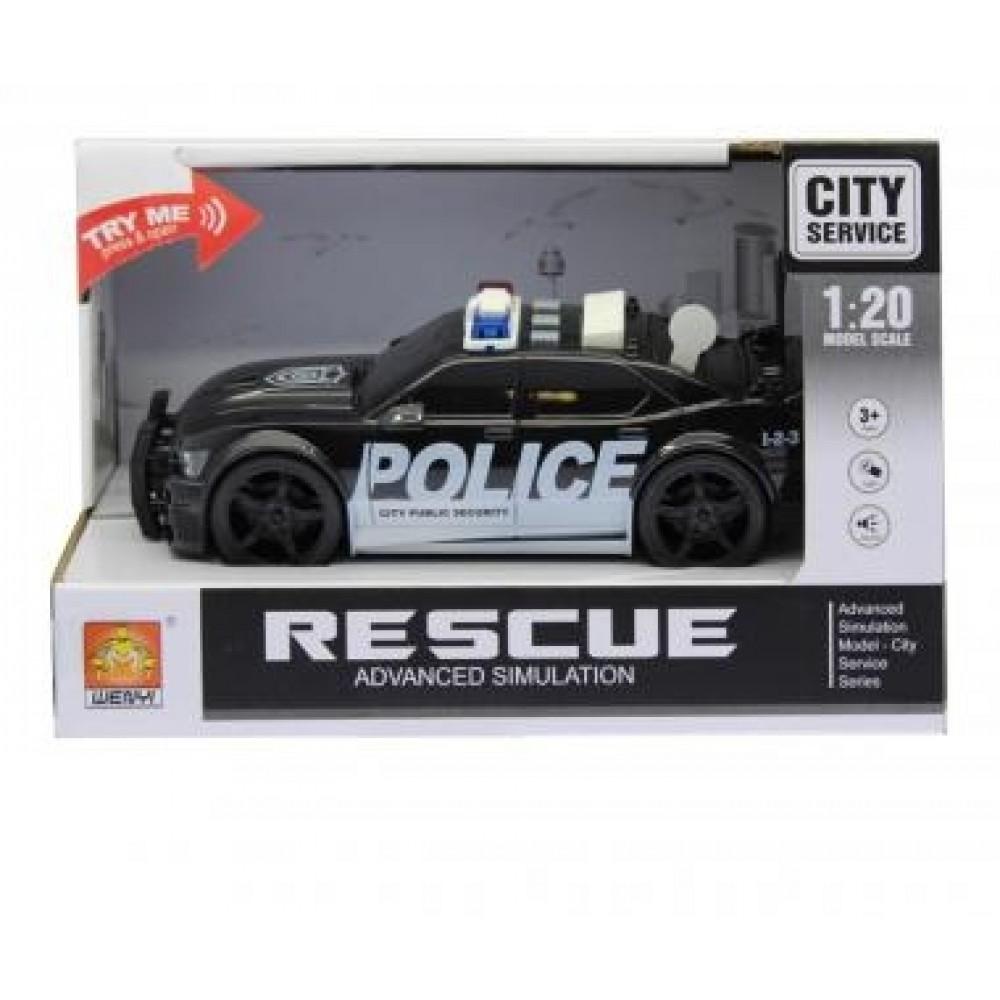 Auto Rescue Police 20cm /6600/ bat.