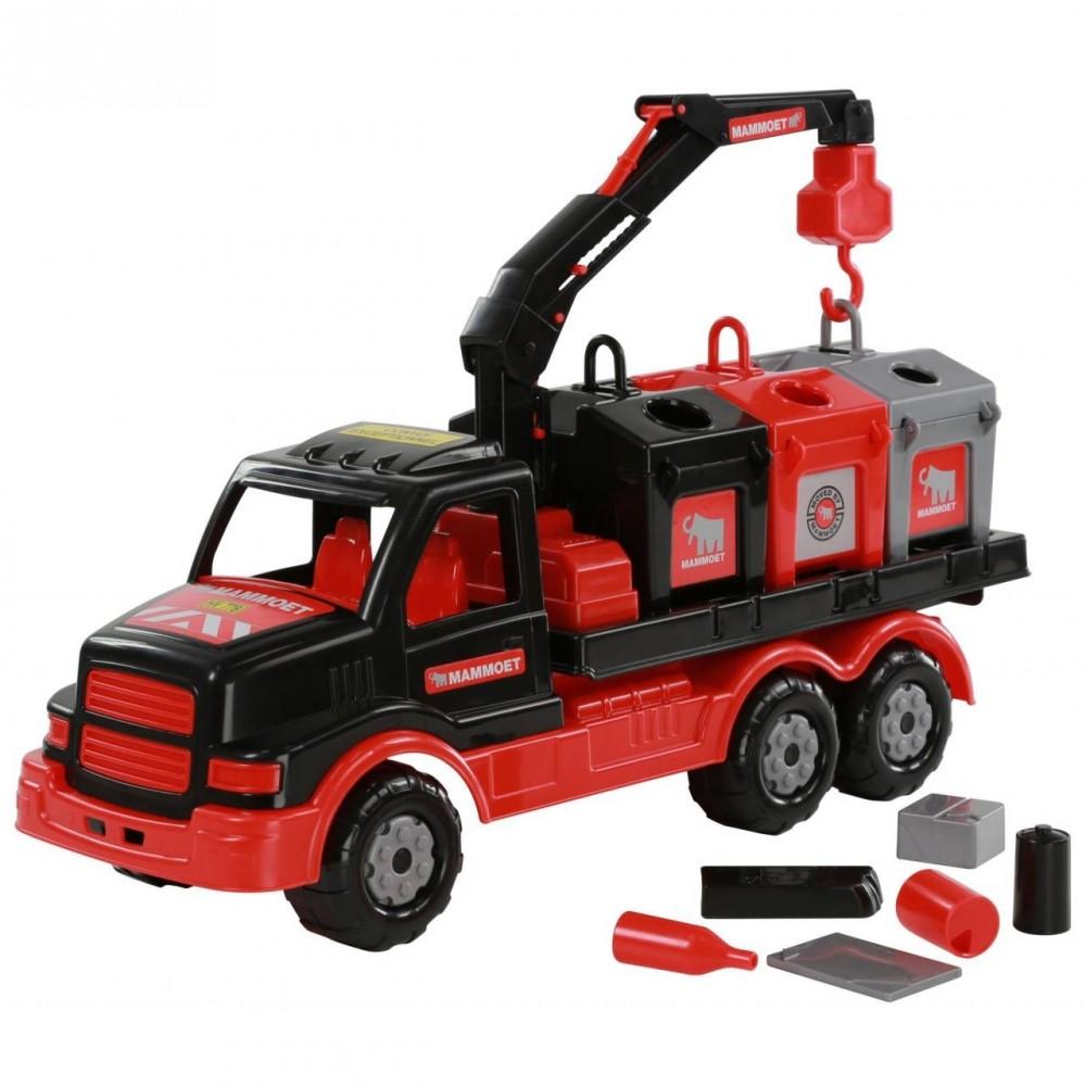 auto s kontajnermi CE - 68507 polesie
