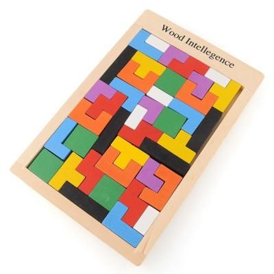 Drevený Tetris 7823