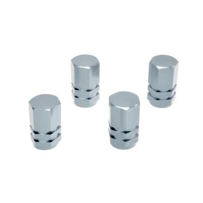 Ozdobné kryty ventilov strieborné