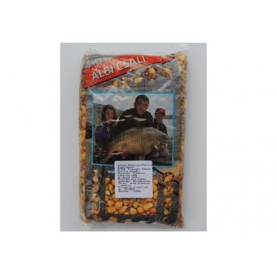 Partikel varený 1 kg MIX - kukurica/pšenica