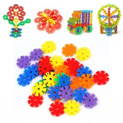 Farebné Puzzle Krúžky so zárezmi