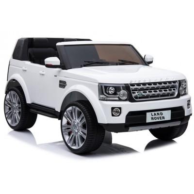 Elektrické auto Land Rover 0918 biele (3909)