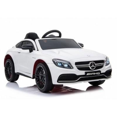 Elektrické auto Mercedes C63 biele (3851)