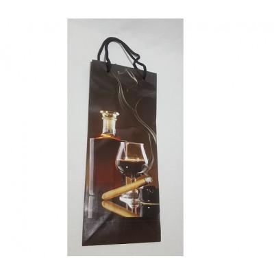 Darčeková taška - Na fľašu (35x15cm)