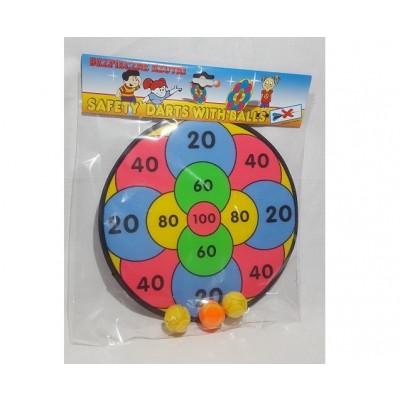 Darts loptová hra - číselná