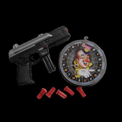 pištol s terčom