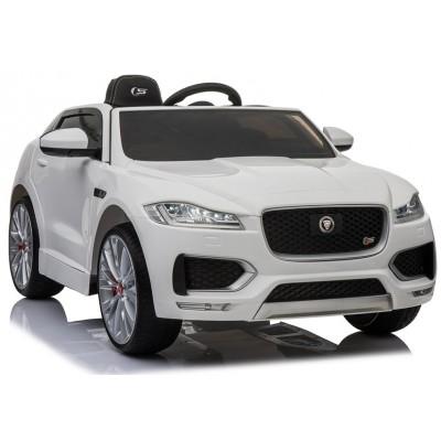 Elektrické auto Jaguar F-Pace biele (4155)