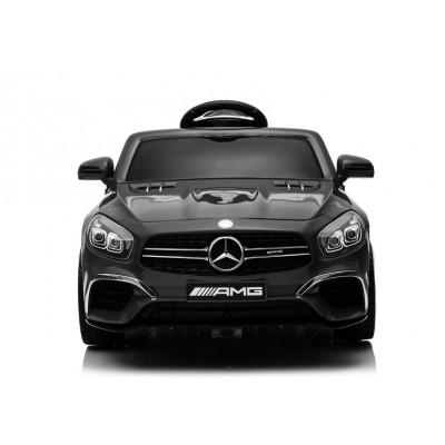 Elektrické auto Mercedes SL63 čierne (4101)
