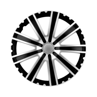 Puklice Toro black/silver